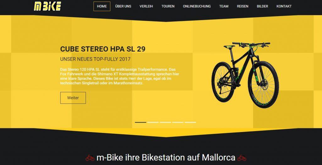 m-bike cala ratjada