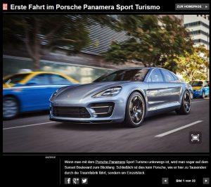 Neuer Porsche Sports Turismo bleibt für viele nur ein Traum!