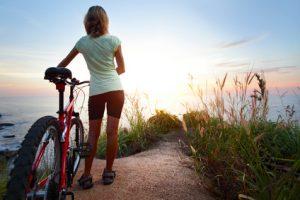 Mallorca: Trekkingrad Verleih